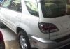 LEXUS RX 300 2001 PEARL WHITE (LASER MOVING) (NEW ARRIVAL)