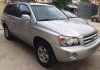 New Arrival Highlander 2003 V4 2.4L engine Silver color