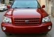 Tax 2004 HIGHLANDER 3 ROW SEAT គ្រឿងក្នុងលឿង